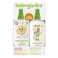 Babyganics Mineral-Based Sunscreen Spray + Natural Insect Repellent, 1 ea