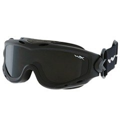 WILEY X Spear Goggles Smoke Grey Clear Lens Matte Black Frame SP29B
