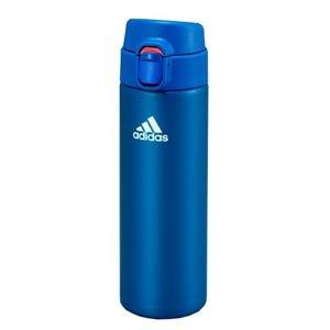 adidas/アディダス 水筒 保冷・保温 ダイレクトボトル 0.48L タイガー TIGER ステンレスボトル (Aブルー)