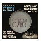 Organic Grooming by Herban Cowboy Shave Soap-Dusk-2.9 oz