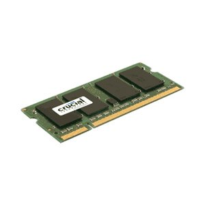 Crucial 2GB 256Mx64PC2-5300 CT25664AC667 DDR2 200-Pin SODIMM Laptop Memory