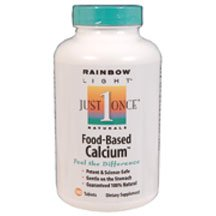 Food Based Calcium 180 Tablets 12PACK [Health and Beauty]