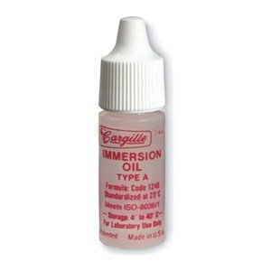 Microscope Immersion Oil, 1/4 Oz