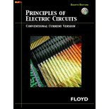 Principles Of Electric Circuits-Conv Curr (8Th, 07) By Floyd, Thomas L [Hardcover (2006)]