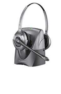 Plantronics Cs361N Binaural Supraplus Wireless Professional Noise-Canceling Headset System With Lifter