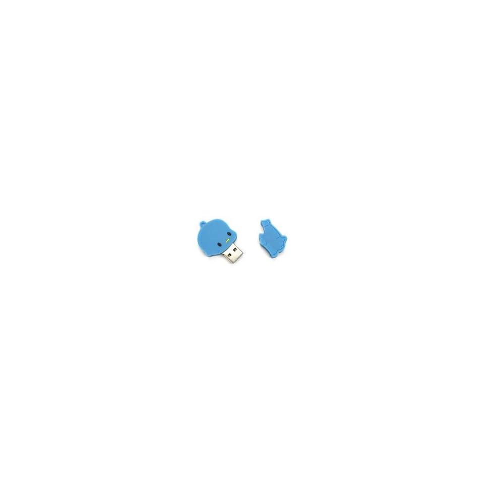 8GB Love You Forever Cartoon USB Flash Drive Blue
