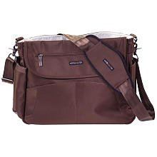 Lillebaby Oslo Diaper Bag in Chocolate Brown - 1