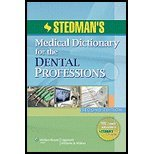 img - for Stedman's Medical Dictionary for the Dental Professions by Stedman's. [2011,2nd Edition.] Paperback book / textbook / text book