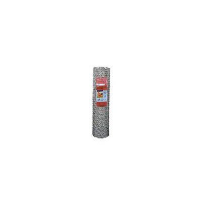G & B 308497B 60-Inch by 150-Foot 2-Inch Mesh Galvanized Poultry Netting