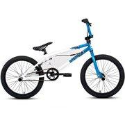 20 Ratchet Unisex BMX Bike, White-DK-53003 by DK