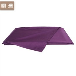 Cotton Sheets Solid Colors Plain Simple And Deep Purple Bedding front-174963