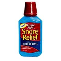 Breathe Right Snore Relief Throat Rinse, cool