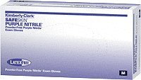 Kimberly Clark Purple Nitrile Exam Gloves Small