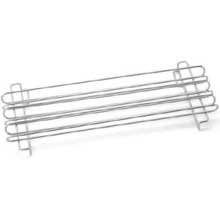 Tablecraft Chrome Plated Metal Taco Rail Only -- 1 Each.
