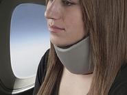 Embrace Sleep Collar Travel Pillow Black