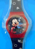 Mickey Mouse Watch - Disneys Mickey Mouse Watch (Jelly Band)