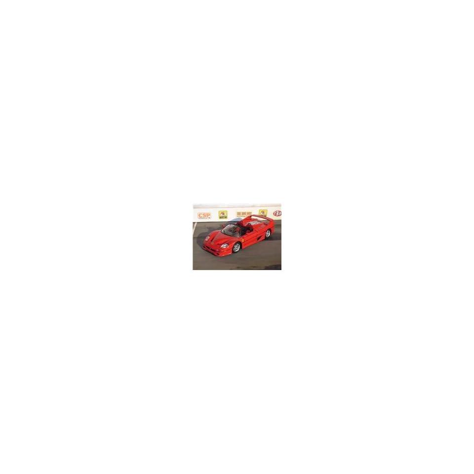 Build A Car   Diecast Model Ferrari F50 W/Metal Body and Custom