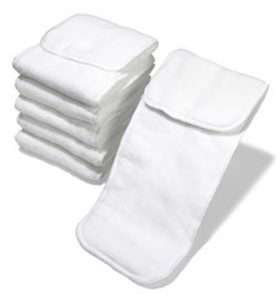 Cotton Babies One-Size Micro-Fiber Inserts - 6 Pk front-633965