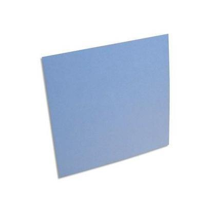 Paquet de 25 cartes POLLEN format 160x160 mm coloris bleu lavande référence 1139.