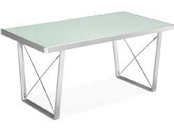 Cheap Legion Dining Table With Frosted Glass Table Top (B0017LS88W)