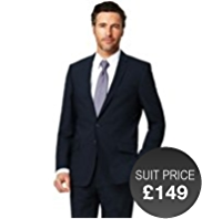Slim Fit Ultimate Performance 2 Button Jacket with Wool