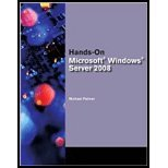 img - for Bundle: Hands-On Microsoft Windows Server 2008 Administration + Microsoft Windows Server Enterprise 2008 DVD Evaluation Unlimited Client 120 Day (Book+DVD Rom) [Paperback] [2008] 1 Ed. Michael J. Palmer book / textbook / text book