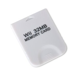 32MB Memory Card for Nintendo WII