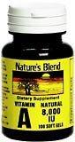 Nature'S Best Vitamin A 8000Iu