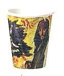 Pirates Of Caribbean 9 Oz. Hot/Cold Cup - NEW! Paper - 1