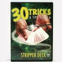 30 Tricks & Tips with a Stripper Deck DVD, Includes Special Tapered Deck