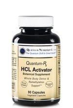 Quantum Nutrition Labs, Quantum-Rx, HCL Activator, Botanical Supplement, 90 Veggie Caps (Pituitary Caps compare prices)