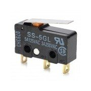 SS-5GL DIY Replacement ENDSTOP RAMPS 1.4 Limit Switch for 3D Printer - Black Black