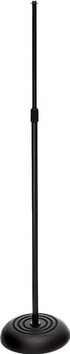 On-Stage Mc7201 Round Base Mic Stand, Black