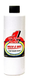 One Grand Wash & Wax Soap, 16 oz Bottle