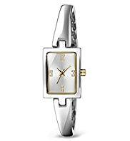 M&S Collection Rectangular Face Analogue Bangle Watch