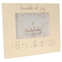 Koala Baby \'Bundle of Joy\' Frame - Cream