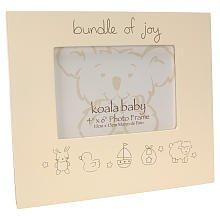 Koala Baby 'Bundle of Joy' Frame - Cream