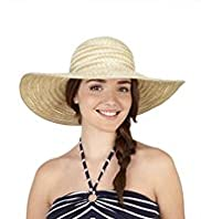 Wide Brim Weave Hat