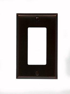 Classic Accents Oil Rubbed Bronze GFI Decora Wall PlateB0006FIX44
