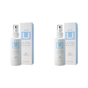 Best Cheap Deal for Ultra Hair Away - 2 Bottles - Hair Growth Inhibitor Permanent Hair Removal Remover Spray from Chunkaew - Free 2 Day Shipping Available