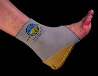 Tulis Medi-Dyne Cheetahs Ankle Supports with Heel Cup, Small