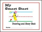Teacher Created Resources Smart Start Drawing & Story Book K-1 Journal