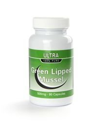 Ultra Green Lipped Mussel 500mg 90 Quick Release Capsules- Joint Pain and Arthritis Relief- Read the Reviews Below !