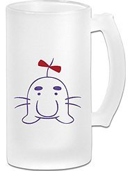 RPG Earthbound Mr. Saturn Frosted Glass Pub Big Beer Stein - 500ML
