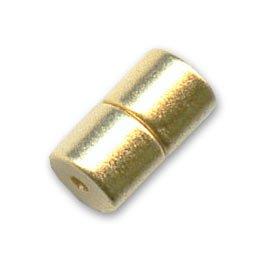 Magnetverschluß 12x6 mm Gold tone x1