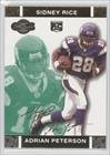 Adrian Peterson #216/249 Minnesota Vikings (Football Card) 2007 Topps Co-Signers Green Changing Faces Gold #70
