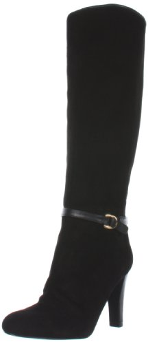 Ivanka Trump Womens Black Suede