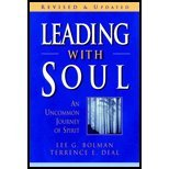 img - for Leading with Soul by Bolman, Lee G., Deal, Terrence E.. (Jossey-Bass,2001) [Hardcover] 2ND EDITION book / textbook / text book