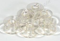 Check Out This 20 pk. Clear Bobbins 102261103 (SA156) - Elna, Janome, Kenmore, Brother