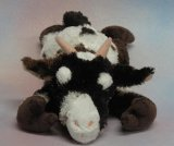 "Wishpets 12"" Floppy Billy Goat Spotted Plush Toy"